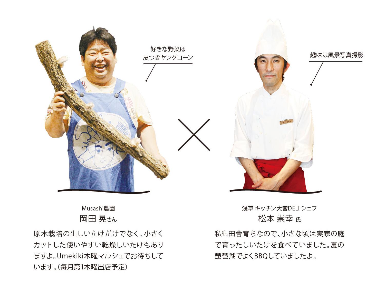 Musashi農園×松本シェフ