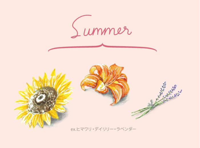 夏のエディブルフラワー
