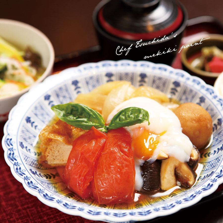 精進料理トマトすき焼き膳