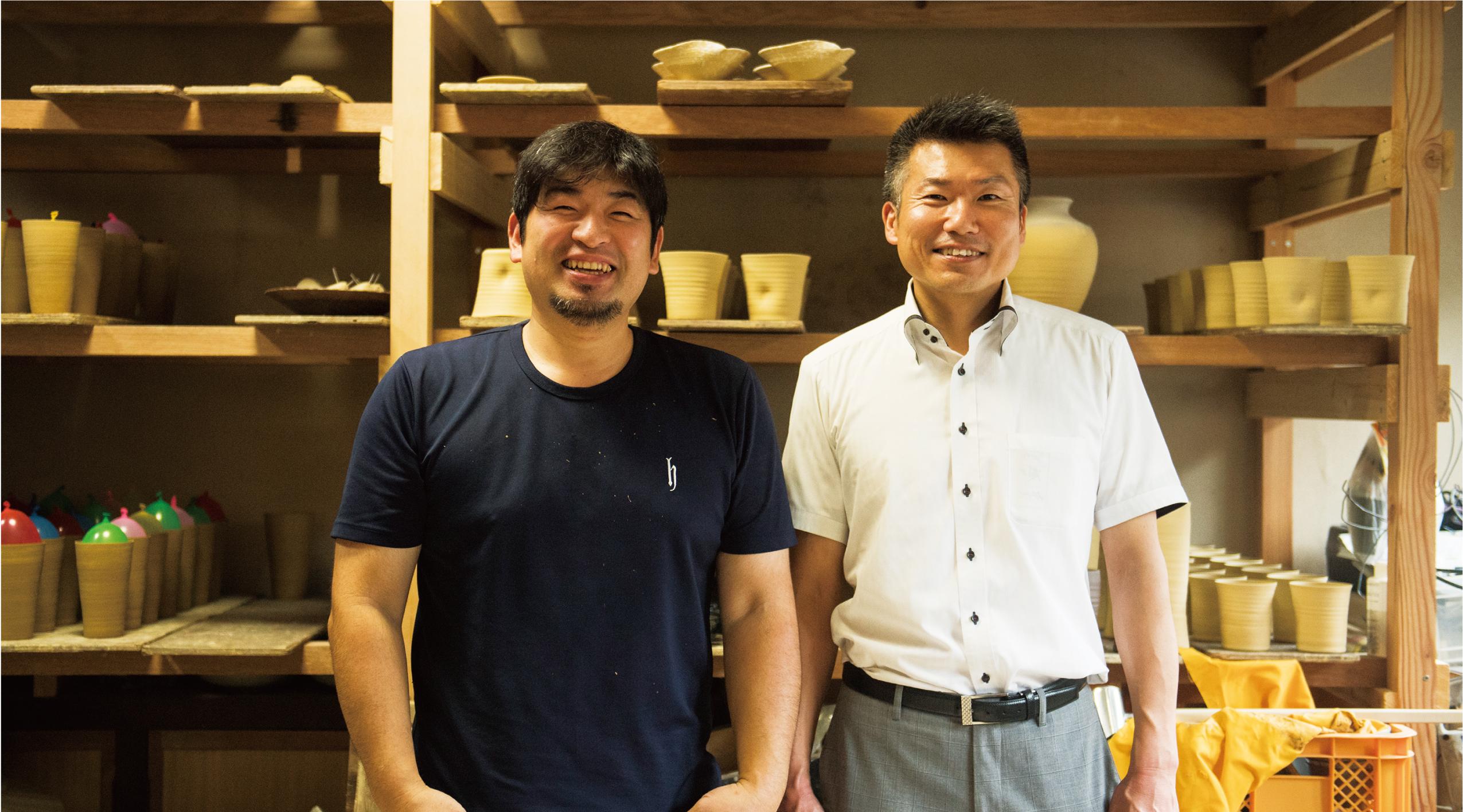 司辻健司さんと大瀧和憲さん